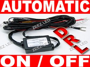 LED Daytime Running Light (DRL) Automatic Control On/Off Switch Relay Harness