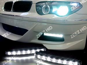 Euro Style 8 LED Daytime Running Light